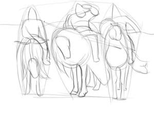 Как-нарисовать-Илью-Муромца-карандашом-поэтапно-2
