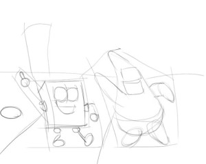 Как-нарисовать-Патрика-карандашом-поэтапно-2