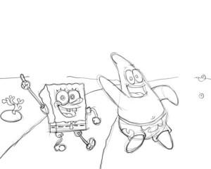 Как-нарисовать-Патрика-карандашом-поэтапно-3