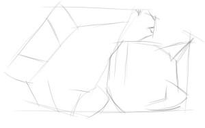 Как-нарисовать-котёнка-карандашом-поэтапно-1