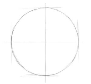 Как-нарисовать-луну-карандашом-поэтапно-2