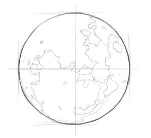 Как-нарисовать-луну-карандашом-поэтапно-3