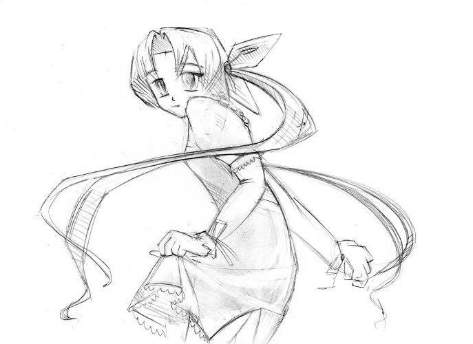 Как рисовать аниме мангу?