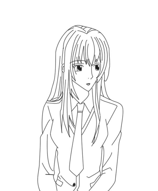 Как нарисовать аниме девушку?
