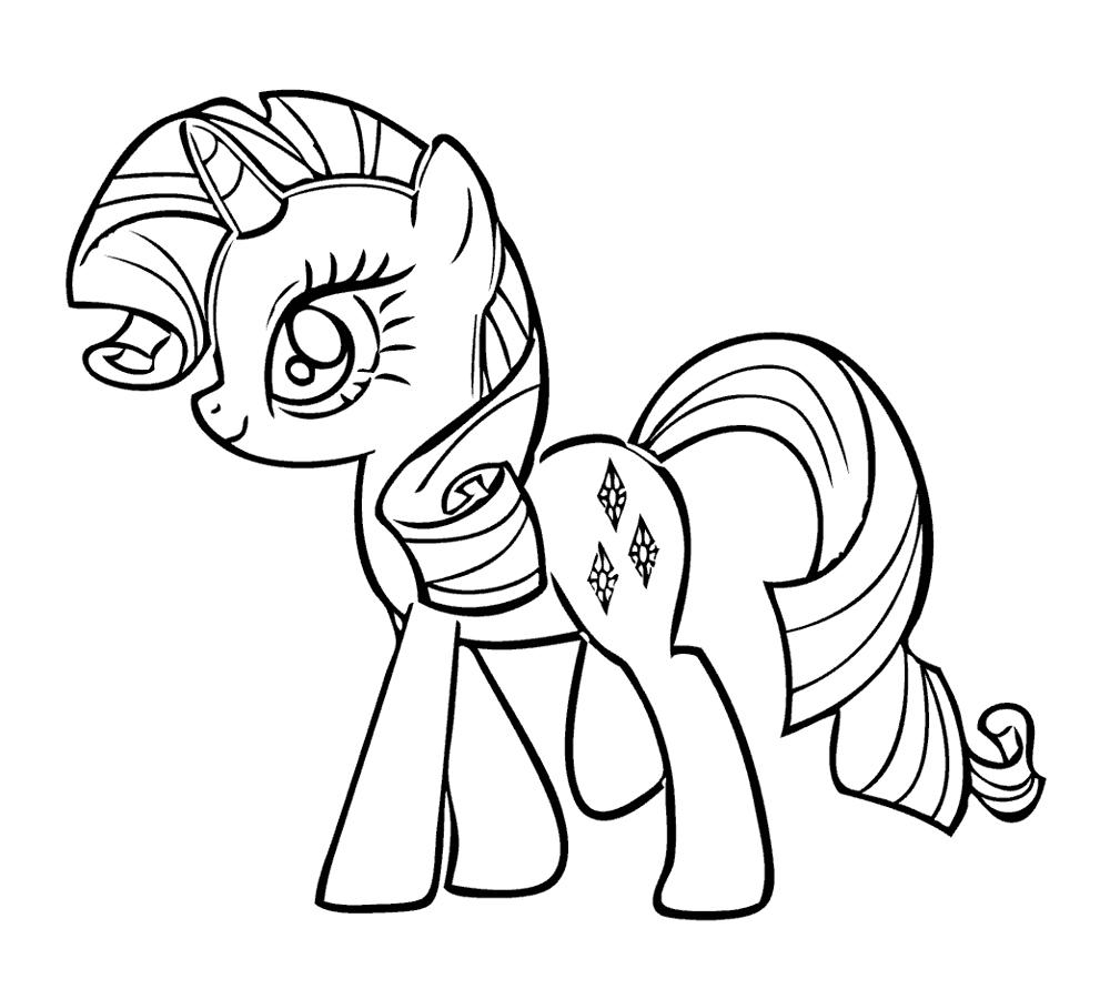 Рисуем искорку пони - b