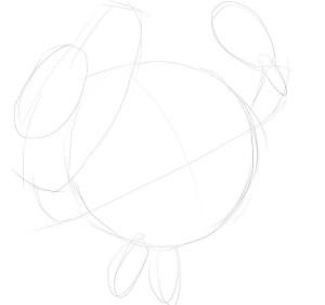 Как-нарисовать-Нюшу-карандашом-поэтапно-1