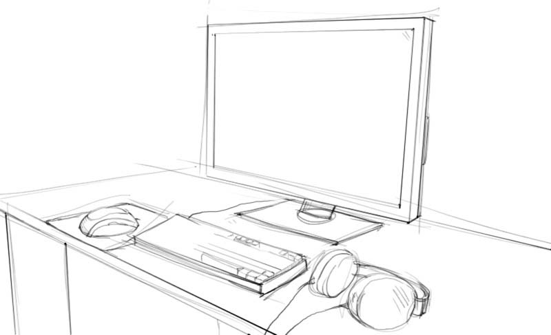 Рабочий стол поэтапно