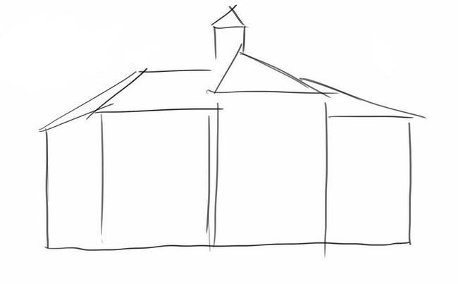Здания школы раскраски 137