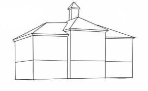 Как-нарисовать-школу-карандашом-поэтапно-2