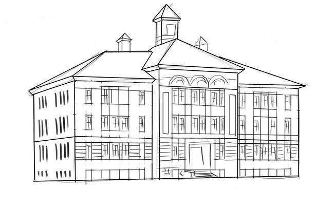 какие прекрасные строения можно нарисовать