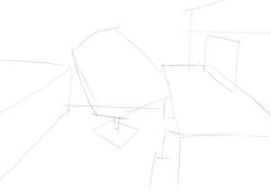 Как-нарисовать-свою-комнату-карандашом-поэтапно-1