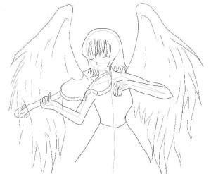 как-нарисовать-ангела-карандашом-3