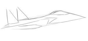 Как нарисовать самолет? - 2