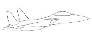 Как нарисовать самолет? - 3