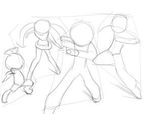 Как-нарисовать-Бакуган-карандашом-поэтапно-2