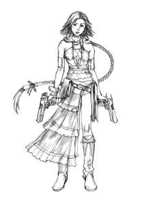 Как-нарисовать-аниме-девушку-карандашом-поэтапно-4
