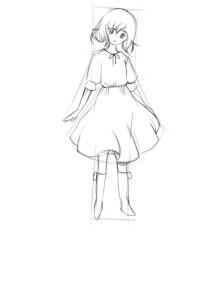Как-нарисовать-девочку-в-платье-3