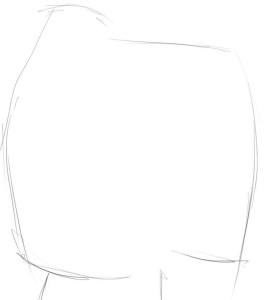 Как-нарисовать-маму-и-папу-карандашом-поэтапно-1