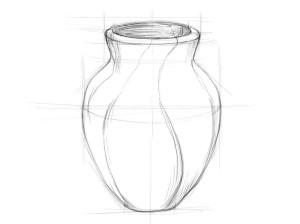 Как-нарисовать-вазу-карандашом-поэтапно-3