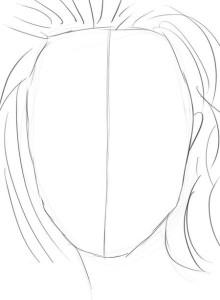 Как-нарисовать-женское-лицо-карандашом-поэтапно-2