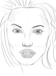 Как-нарисовать-женское-лицо-карандашом-поэтапно-5