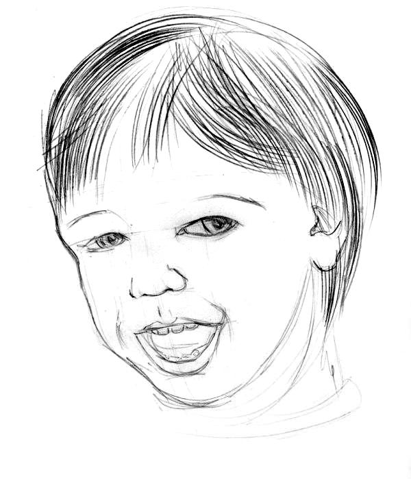 Как нарисовать ребенка?