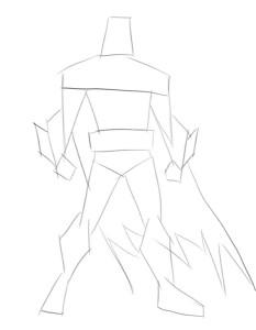 Как-нарисовать-Бэтмена-карандашом-поэтапно-1
