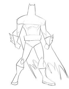 Как-нарисовать-Бэтмена-карандашом-поэтапно-2