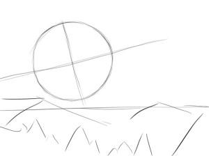 Как-нарисовать-космос-карандашом-поэтапно-1