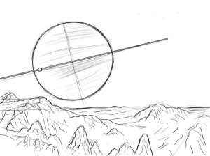 Как-нарисовать-космос-карандашом-поэтапно-3