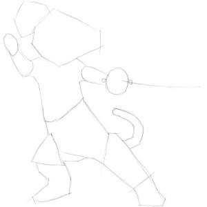 Как-нарисовать-кота-в-сапогах-карандашом-поэтапно-1