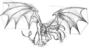 Как-нарисовать-крылья-демона-карандашом-поэтапно-4