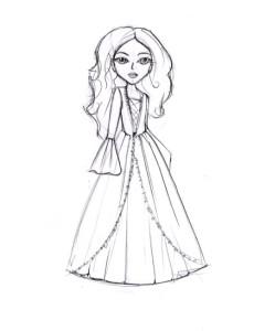Как-нарисовать-куклу-карандашом-поэтапно-5