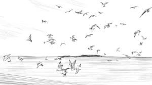 Как-нарисовать-море-карандашом-поэтапно-4