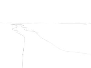Как-нарисовать-реку-карандашом-поэтапно-1