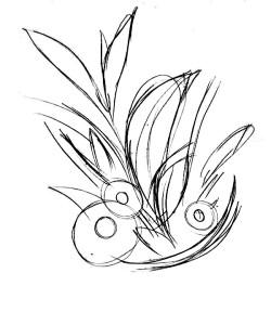 Как-нарисовать-ромашку-карандашом-2