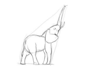 Как-нарисовать-слона-карандашом-поэтапно-3