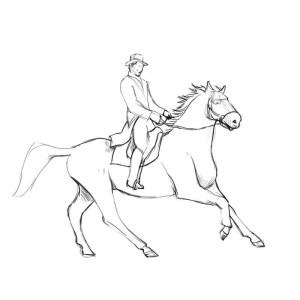 Как-нарисовать-всадника-карандашом-поэтапно-4