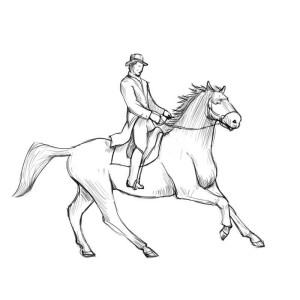 Как-нарисовать-всадника-карандашом-поэтапно-5