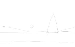 Как-нарисовать-закат-карандашом-поэтапно-1