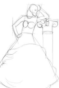 Как-рисовать-платья-карандашом-2