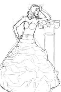 Как-рисовать-платья-карандашом-3