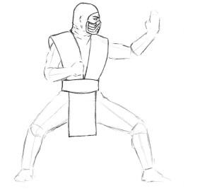 как-нарисовать-ниндзя1