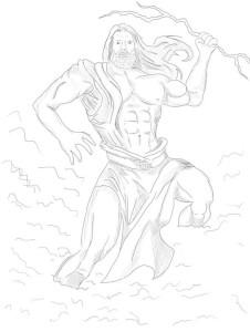 Как-нарисовать-Бога-карандашом-поэтапно-4
