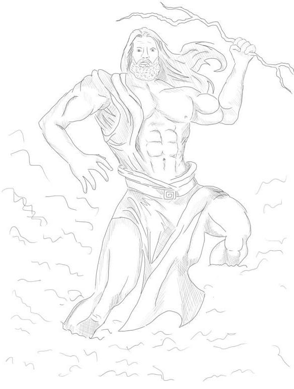 Как нарисовать Бога