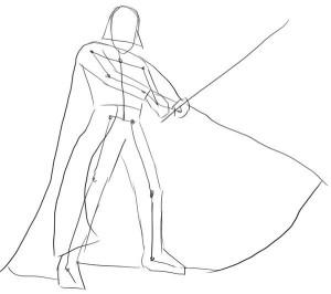 Как-нарисовать-Дарта-Вейдера-карандашом-поэтапно-2