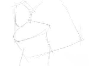 Как-нарисовать-Деда-Мороза-карандашом-поэтапно-1