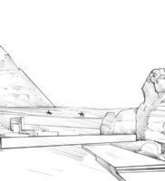 Как нарисовать Египет