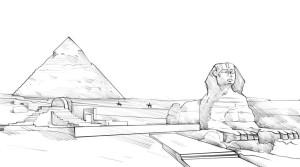 Как-нарисовать-Египет-карандашом-поэтапно-4