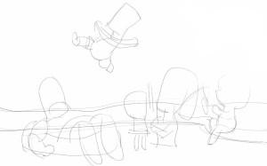 Как-нарисовать-Гомера-карандашом-поэтапно-2